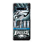 PHILADELPHIA EAGLES CHAMP Samsung Galaxy S6 S7 Edge S8 S9 S10 Plus S10e 3D Case
