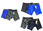 Russell Athletics Pack of 12 Assorted Print Long Leg Boxer Briefs