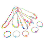 1Set new child beads necklace colorful girls bubblegum handmade for kids toy XE