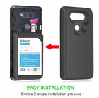 10500mAh Replacement Tri Extended Battery + TPU Case For LG V20 LS997, H910