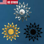 3d Sunflower  Wall Stickers Home Decor Bell Cool Mirrors Living Room Entrance