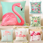 US Flamingo Home Decor Pillowcase Throws Pillow Case Waist Cushion Cover Decors image