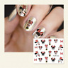 Nail Art Wrap Decal Sticker Watermark Transfer Minnie Mouse Manicure Decor Tool
