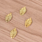 50Pcs/Lot Crafts Filigree Leaf Charms  Necklace Pendants DIY Jewelry FindingES