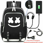 Kyпить Marshmello Backpack Mello DJ Bag w/ USB Charging Port Headphone Interface Cables на еВаy.соm