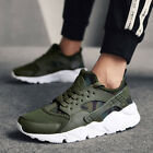 Men's Sneakers Breathable Outdoor Running Shoes Lace Up Sport Tennis Shoes US