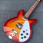 High quality 6 string electric guitar, mahogany fingerboard bright paint, half for sale