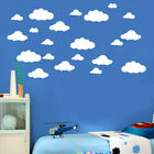 31pcs Diy Large Clouds Wall Decals Children's Room Home Decoration Art