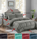 8-Piece Comforter Set Bamboo Print Silky-Soft™ Hypoallergenic Sheet Set Included image