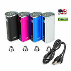 NEW Eleaf iStick 30w 2200mAh Built-In Battery Mod USB Charger Cord and Adapter