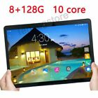 10.1 Inch Tablet 8 128GB 4G-LTE Wifi Android 8.0 Bluetooth PC Dual SIM Camera