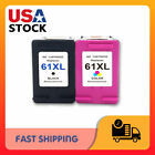 Lot 61 XL Black & Color Ink Cartridges for HP Envy 4500 5530 5534-Show Ink Level