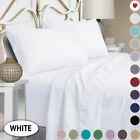 Full Size Sheets,1800TC Luxury Full Sheets with 15-inch Deep Pocket-4 Piece image