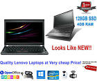 Cheap Fast Kids Student Lenovo Netbook Laptop | 4GB | 320GB | WiFi | Win10 |HDMI