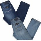 Rock & Republic Mens Jeans Relaxed Straight Fit Light Medium Dark Denim New Nwt