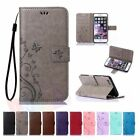 Flip Leather Wallet Card Slot Stand Case Cover For Iphone 5 Se 6 7 8 Plus Xs Max