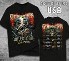 Godsmack X Halestorm Plan 2019 Tour Dates T SHIRT LIMITED EDITION USA SIZE S-XL image