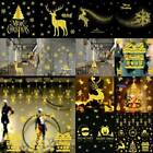 Xmas Christmas Wall Stickers Home Window Store Party Decorations Removable Diy