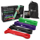 XPRT Fitness Pull Up Resistance Bands Set of 4 – Stretch Powerlifting  image