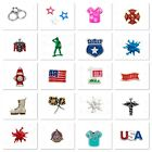 Authentic Origami Owl MILITARY/FIRST RESPONDERS OCCUPATIONS Charms Combined Ship image