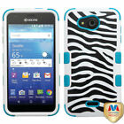 Impact Hard Case +Silicone Protector TUFF Cover for Kyocera C6740 Wave