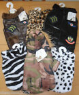Dog Chihuahua Puppy Pet Coat Harness Leather Camouflage Animal Print XXS XS S M