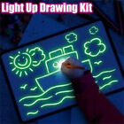 Draw With Light Fun  Developing Toy Drawing Board Magic Draw Educational NEW