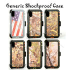 For iPhone Shockproof Dust Proof Life Defender Case Holster Belt Clip Camouflage