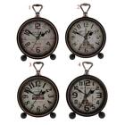 Wall Clock European Style Retro Vintage Style Battery Operated Clock