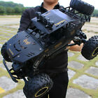 Monster Truck 2.4G RC Rock Climbing Car Off-Road Remote Control Drift Nitro 4WD <br/> ▲Alloy shell ▲Large size ▲45 ° climbing▲