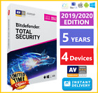 BITDEFENDER TOTAL SECURITY 2019 / 2020 | 5 YEARS | DOWNLOAD - INSTANT DELIVERY🌟