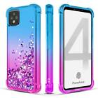 For Google Pixel 4/4 XL Case Shockproof Quicksand Glitter Cover+Screen Protector