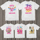 JOJO SIWA Girl T-Shirt Personalised T-Shirt Vanue Uk Tour Top Tee