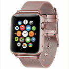 For Apple Watch Band 42mm 38mm 44mm 40mm Series 5/4/3/2 Milanese Stainless Steel