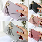 Womens Tassels Key Case Card Holder Mini Small Wallet Clutch Purse Pouch Xmas image