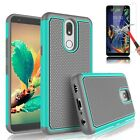 For LG K20 Plus,K30,K40 Case Shockproof With Tempered Glass Screen Protector