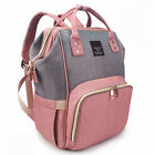 Mummy Baby Diaper Bag Maternity Nappy Backpack Free send USB Bottle Warmer Bag