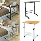 Laptop Stand Table Rolling Cart  Computer Desk Sofa Bed  Adjustable 27.5