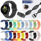 Silicone Soft Sport Band Strap For Samsung Galaxy Watch Active 2 46/42mm Gear S3 image