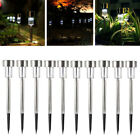 20 Solar Powered Garden Lights Post Patio Outdoor Led Lighting Stainless Steel H