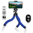 Flexible Small Octopus Mount Mini Tripod Bluetooth Remote Stand Holder iPhone