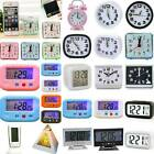 LCD Digital Clocks Battery Operated Snooze Electronic Alarm Home Clocks Alarm