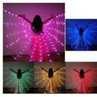 Womens Adult LED 360 Degree Belly Dance Isis Wings Luminous Butterfly Wings