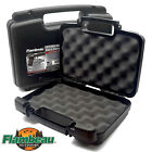 "Flambeau ""Safe Shot"" Pistol Pack Case Hard Gun Box Handgun BB Airsoft 3 Sizes"