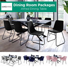 9/7pcs Dining Furniture Set Table and Chairs Kitchen Modern Dining Room Settings
