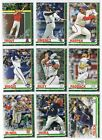 2019 Topps Holiday METALLIC PARALLEL Singles - Complete Your Set - You PickBaseball Cards - 213