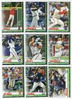 2019 Topps Holiday METALLIC PARALLEL Singles - Complete Your Set - You Pick on Ebay
