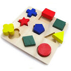 Kyпить Children Baby Educational Wood Puzzle Shape Classification Early Learning Toys на еВаy.соm