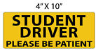 MAGNET   STUDENT DRIVER   NEW DRIVER   FREE SHIPPING