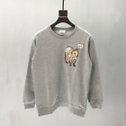 Mens ACNE STUDIOS Casual Solid Embroidered animal Sleeve Pullover Sweater coats